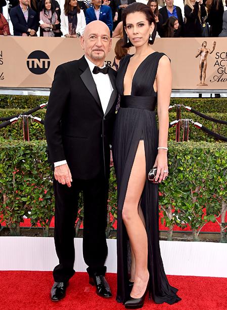 Ben Kingsley and Daniela Lavender