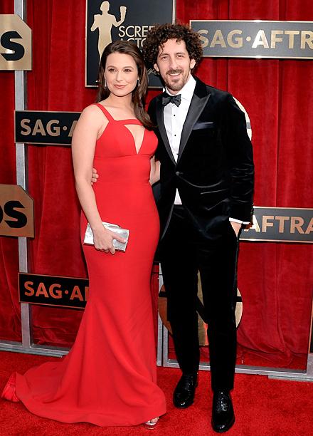 Katie Lowes and Adam Shapiro