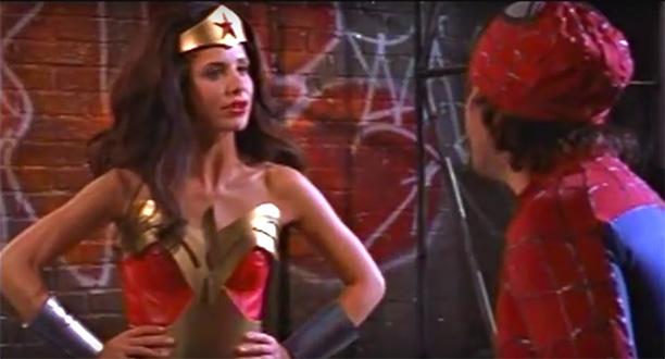 Sarah Michelle Gellar as Wonder Woman
