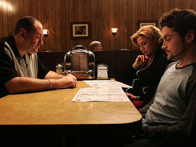Edie Falco, Robert Iler, ... | 10. THE SOPRANOS (1999-2007) Who needs resolution? Tony Soprano (James Gandolfini) lived so much of his life in the realm of ambiguity, we shouldn't have…