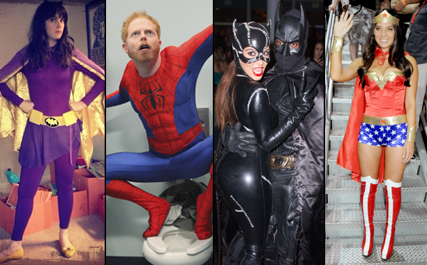Celeb Superheroes