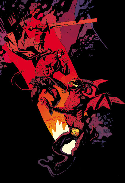 Hellboy | Brought to Life by: Mike Mignola Two decades of comics, two feature films, and an array of games, cartoons, etc., all started with a sketchbook…