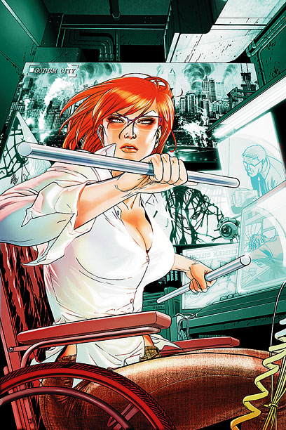 Joss Whedon, The Astonishing X-Men | Brought to Life by: John Ostrander and Kim Yale The wildest thing about librarian Barbara Gordon's transformation from Batgirl into the wheelchair-bound Oracle wasn't that…