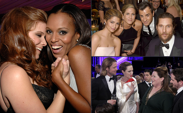 The Golden Globes' Surprise Friends