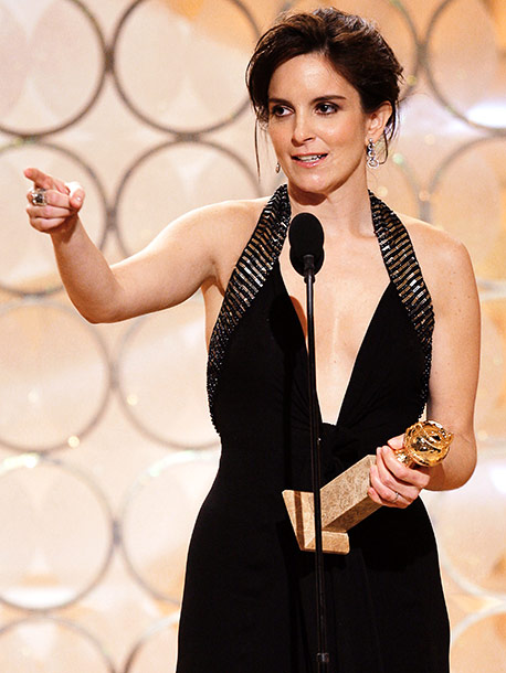 Tina Fey, Golden Globes | Who doesn't love Tina Fey? BabsInLacrosse, DianeFan, and CougarLetter, that's who. During her Best Actress thank-yous, the 30 Rock star marveled at the great year…