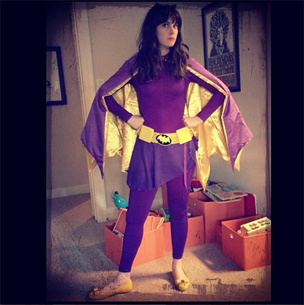 Zooey Deschanel as Batgirl