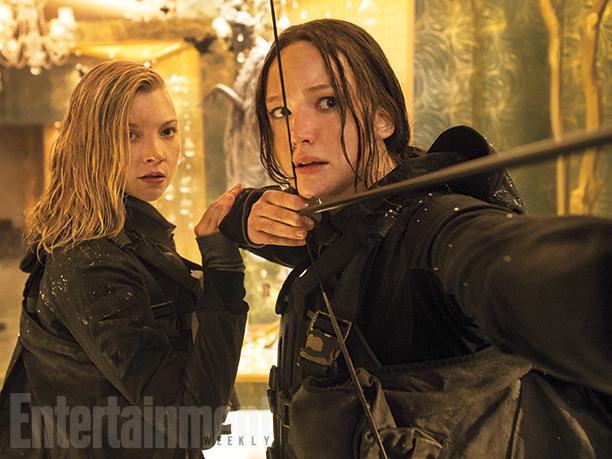 Natalie Dormer and Jennifer Lawrence