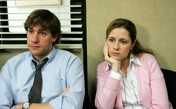 Jim Halpert and Pam Beesley