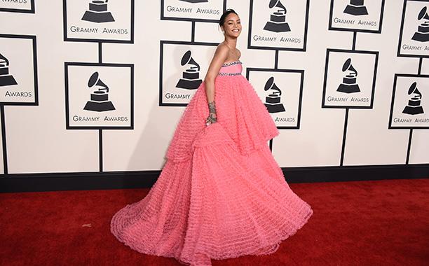 Rihanna at the 2015 Grammy Awards
