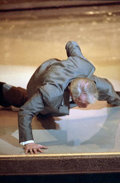 Jack Palance Does One-Armed Push-Ups, 1991 Oscars