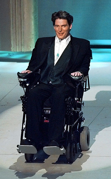 Christopher Reeve Introcues Film Clips About Social Issues After His Accident, 1995 Oscars
