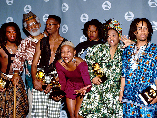 Winning Year: 1993 Just a Flash: The consensus back in '92 was that this alternative rap group — the first to win the award —…