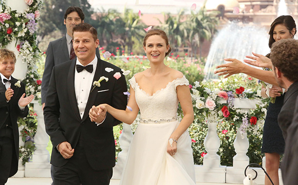 Booth and Brennan, Bones