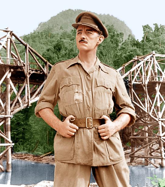 7. Alec Guinness as Colonel Nicholson