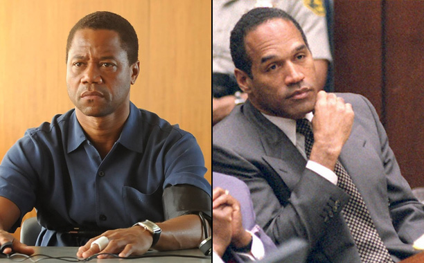 Cuba Gooding Jr. as O.J. Simpson; O.J. Simpson