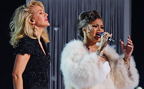 """Andra Day & Ellie Goulding (""""Rise Up"""" / """"Love Me Like You Do"""")"""