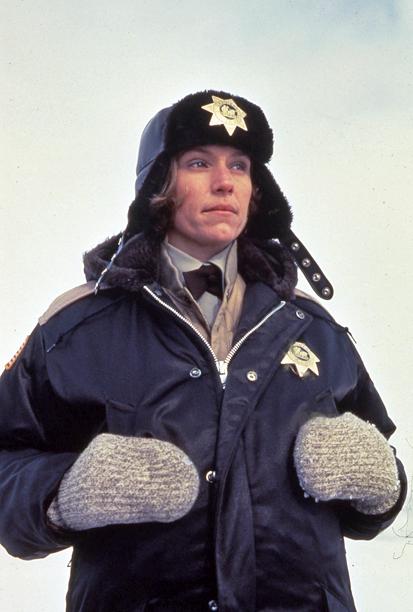 8. Frances McDormand as Marge Gunderson