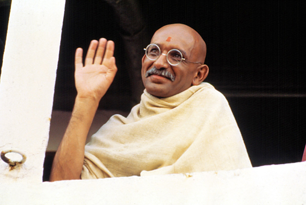 22. Ben Kingsley as Gandhi