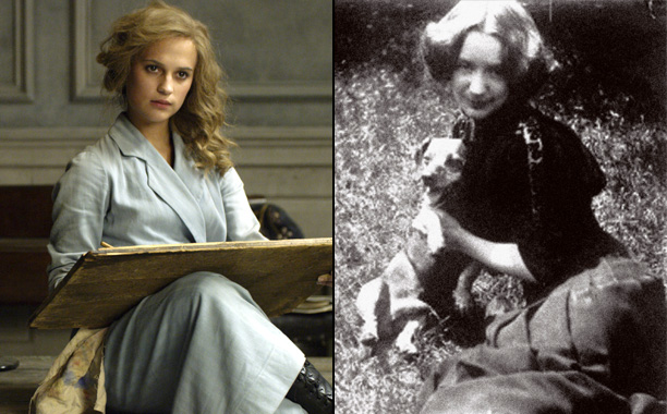Alicia Vikander as Danish Painter Gerda Wegener in The Danish Girl