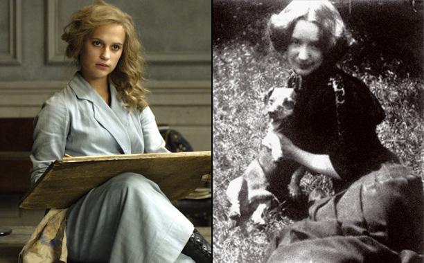 Alicia Vikander as Danish Painter Gerda Wegener in The Danish Girl