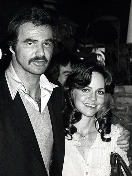 March 15, 1978 With Sally Field in Los Angeles