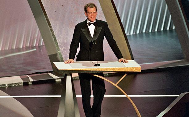 "David Letterman Cracks Painful ""Uma... Oprah..."" Joke, 1994 Oscars"
