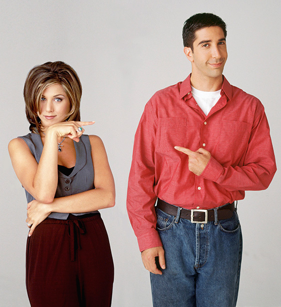 The One Where Rachel and Ross Are Asked Who Has the Worst Pants