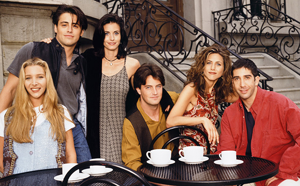 The One Where They Pretend to Drink Coffee on the Studio Lot