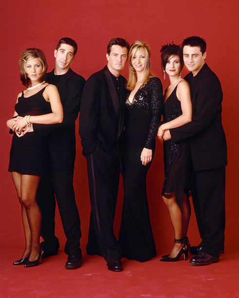 The One Where They All Take a Prom Photo