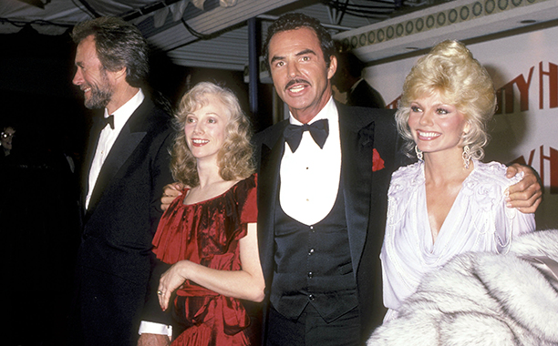 December 5, 1984 With Clint Eastwood, Sondra Locke, and Loni Anderson in Hollywood
