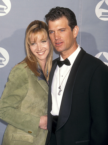 Lisa Kudrow and Chris Isaak
