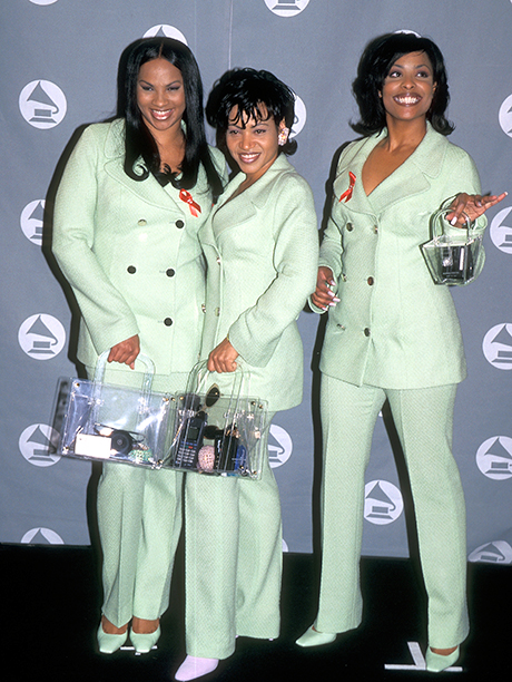 "Cheryl ""Salt"" James, Sandra ""Pepa"" Denton, and Deidra ""Spinderella"" Roper of Salt-N-Pepa"