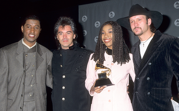 Babyface, Marty Stuart, Brandy, and Tim McGraw