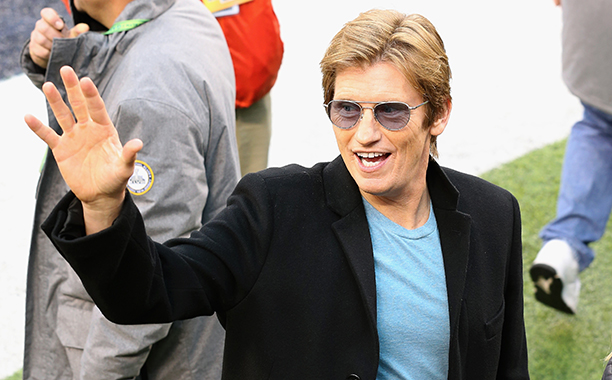 Denis Leary at Super Bowl XLVIII (Seattle Seahawks vs. Denver Broncos) in 2014