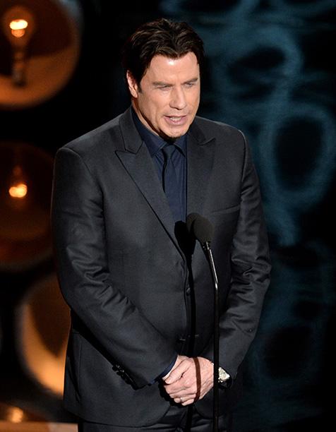 John Travolta Screws Up Idina Menzel's Name, 2014 Oscars