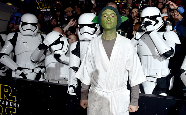 December 14, 2015 at the Premiere of Star Wars: The Force Awakens in Hollywood, Calif.