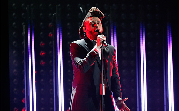 The Weeknd Takes the Stage