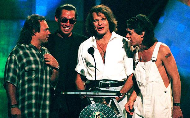 Van Halen Reunites for the First Time in a Decade, 1996 VMAs