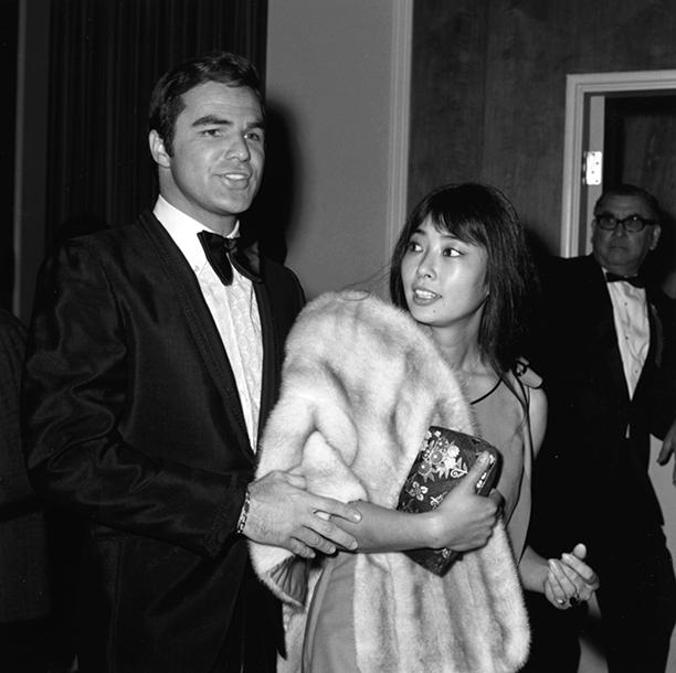 February 1971 With Miko Mayama at the Golden Globe Awards