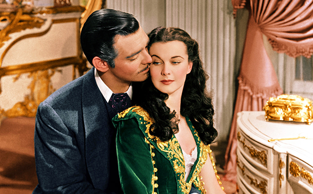 Rhett Butler and Scarlett O'Hara