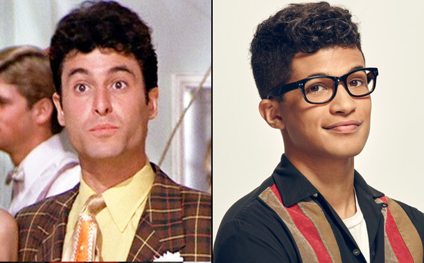 Barry Pearl as Doody and Jordan Fisher as Doody