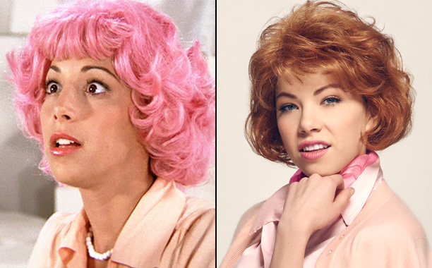Didi Conn as Frenchy and Carly Rae Jepsen as Frenchy