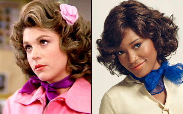 Dinah Manoff as Marty Maraschino and Keke Palmer as Marty