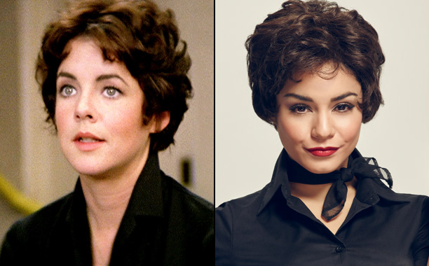Stockard Channing as Betty Rizzo and Vanessa Hudgens as Rizzo