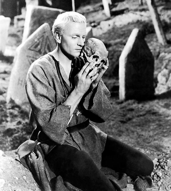 19. Laurence Olivier as Hamlet
