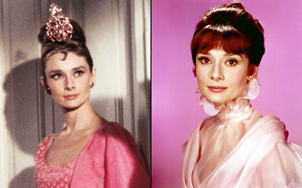 Audrey Hepburn in Breakfast at Tiffany's and My Fair Lady