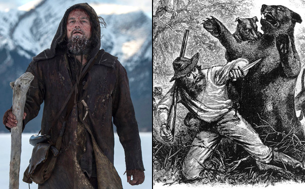 Leonardo DiCaprio as Fur Trapper Hugh Glass in The Revenant