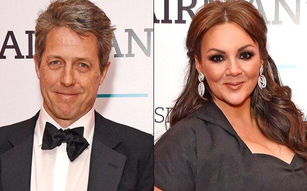 Love Actually Reunion Hugh Grant And Martine Mccutcheon Attend Bfi Gala Ew Com