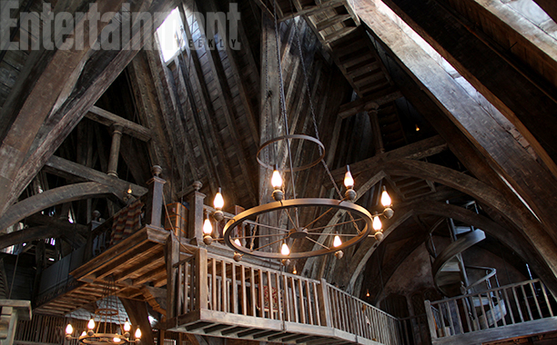 Checking into the Three Broomsticks