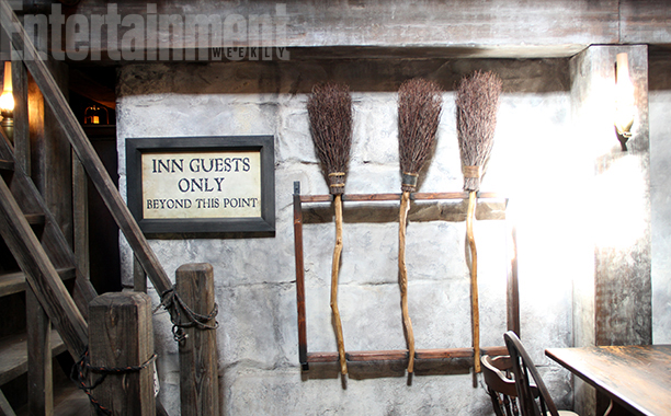 Three Broomsticks at the Three Broomsticks